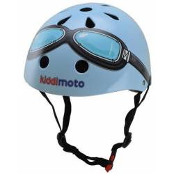 Kiddimoto helm Blue Goggle Small