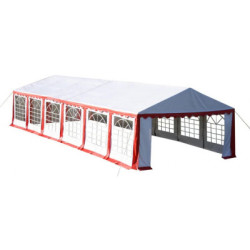 Partytent 12x6 m rood