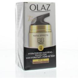 Olaz Total Effects Bb Cream Dagcreme Medium Tint (50ml)