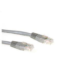 ACT UTP CAT6 patchcable grey 3 m