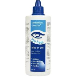 Eye Fresh Lenzenvloeistof Alles In 1 Zacht 360ml