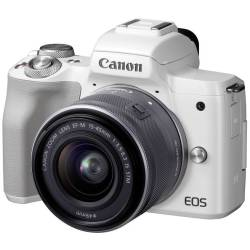 Canon EOS M50 systeemcamera Wit 15 45mm IS STM Zilver