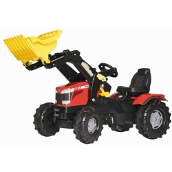 Rolly Toys FarmTrac Massey Ferguson Traptractor met Frontlader