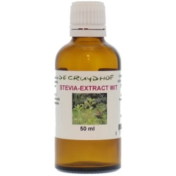 Cruydhof Stevia Extract Wit (50ml)