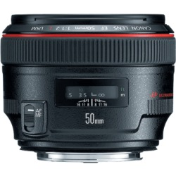 Canon EF 50mm f 1.2L USM objectief