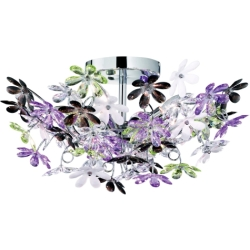 Trio international Moderne Wandlamp Flower R60014017