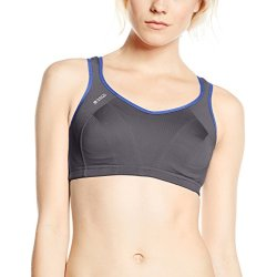 Shock Absorber Active Multi Sport Support TOP level sportbh donkergrijs