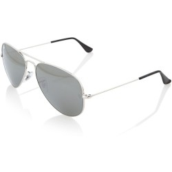 Ray Ban Aviator Large Metal Zonnebril Silver Grey Mirror Large