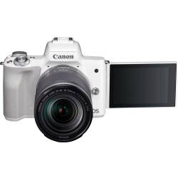 Canon EOS M50 systeemcamera Wit 18 150mm IS STM Zilver