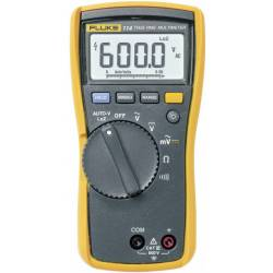 Fluke 114 Multimeter Digitaal Cat Iii 600 V Weergave (Counts) 6000