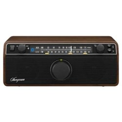 Sangean WR12 BT Radio met bluetooth Walnoot