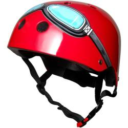 Kinder Fietshelm Red Goggle Medium (53 58 cm)