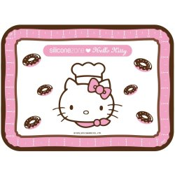 Silicone Zone Hello Kitty Bakmat Junior Wit