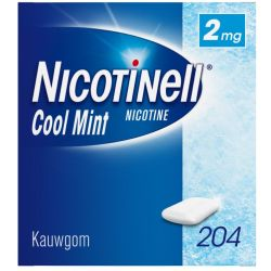 Nicotinell Kauwgum 2mg Cool Mint 204st