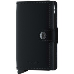 Secrid Mini Wallet Portemonnee Matte Black