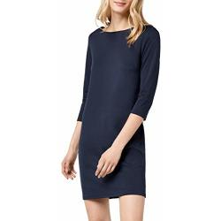 Vila dames Vitinny New Dress jurk Black (Total Eclipse) XS