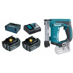 Makita DST221RTJ 18V Li Ion accu nietmachine set (2x 5.0Ah accu) in Mbox 10 22mm