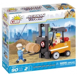 Cobi 90 Pcs Action Town 1668 Forklift