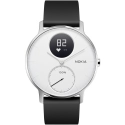 Withings Steel HR Hybride Smartwatch Wit Ø 36mm