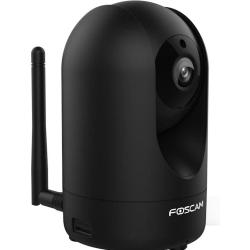 Foscam R2 2MP Indoor full HD Pan Tilt Wireless IP camera Zwart