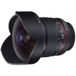 Samyang 14mm f 2.8 ED AS IF UMC Canon EF mount objectief
