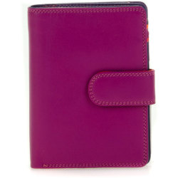 Mywalit Medium Snap Wallet Portemonnee Sangria Multi