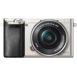 Sony Alpha A6000 ICL systeemcamera Zilver 16 50mm OSS (ILCE6000LS.CEC)