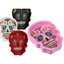 Day of the dead asbak rood 10 cm