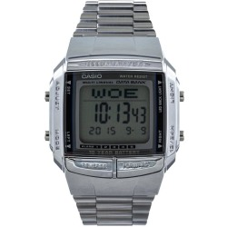 Casio Collection DB 360N 1AEF Horloge 36 mm Staal Zilverkleurig
