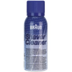 Braun Shaver Cleaner Reinigings spray voor scheerbladen messenkoppen