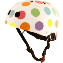 Kinder Fietshelm Pastel Dotty Medium (53 58 cm)