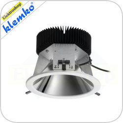 Led downlighter 18W met UGR < 19 4000K voor gatmaat 190mm