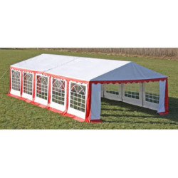 Partytent 10x5 m rood