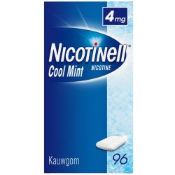 Nicotinell Kauwgom Cool Mint 4 Mg (96st)
