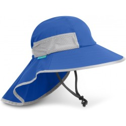Sunday Afternoons Baby's Play Hat Hoed maat S blauw grijs