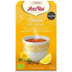 Yogi Tea Detox With Lemon (17st)