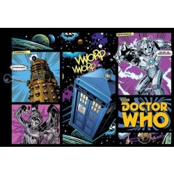 Doctor Who Comic Layout Maxi Poster