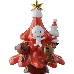 ALESSI Xmas Friends Kerstboom rood