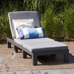 Allibert Daytona Sunlounger