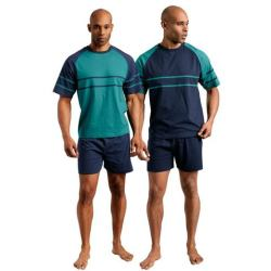 NU 20 KORTING LE JOGGER Shortama in set van 2