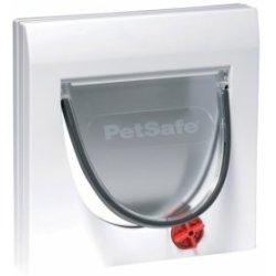 Staywell 919 Manual 4 Way Locking Catflap Kattenluik Wit