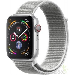 Apple Watch Series 4 OLED Cellulair Zilver GPS smartwatch MTVT2FD A