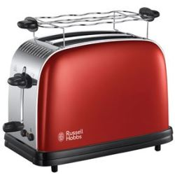 Russell Hobbs Colours Plus Flame Red broodrooster