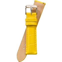 Fromanteel Horlogeband Calf Leather Yellow Croco S 007 maat