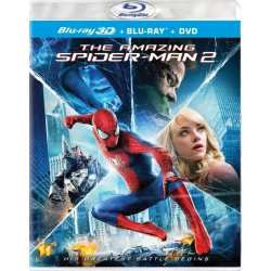 The Amazing Spider Man 2 (3D Blu ray)