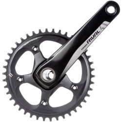 Crankstel sram rival 1 50 tands gxp 175mm 11 speed geen cups steek 11 ZWART