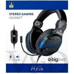 Official Licensed Playstation 4 Stereo Gaming Headset PS4 Zwart Blauw